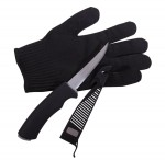 Fillet Knife With Glove