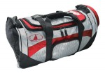 Large Rolling Duffel Black / Red